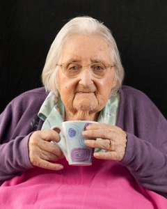 July2015_C_SetPrint-Passing of Time_Ancient Nana drinking Tea_Lisa Cropp_HONOURS_sml