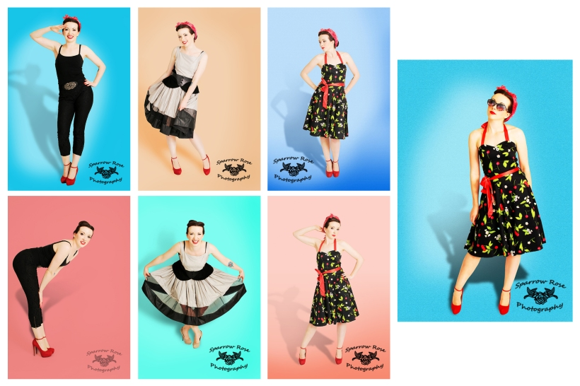 Sparrow Rose Photography - Tessa Pin Up - Dresses