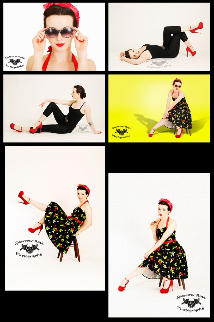 Sparrow Rose Photography - Tessa Pin Up