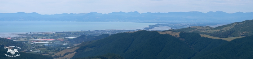 View from top of Takaka Hill